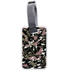 Artistic abstract pattern Luggage Tags (Two Sides)