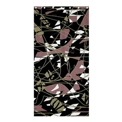 Artistic abstract pattern Shower Curtain 36  x 72  (Stall)