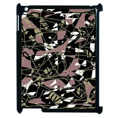 Artistic abstract pattern Apple iPad 2 Case (Black)