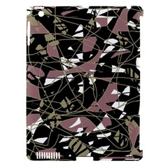 Artistic abstract pattern Apple iPad 3/4 Hardshell Case (Compatible with Smart Cover)