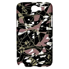 Artistic abstract pattern Samsung Galaxy Note 2 Hardshell Case