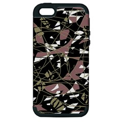 Artistic abstract pattern Apple iPhone 5 Hardshell Case (PC+Silicone)