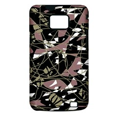 Artistic abstract pattern Samsung Galaxy S II i9100 Hardshell Case (PC+Silicone)