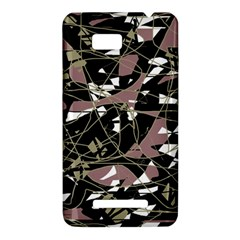 Artistic abstract pattern HTC One SU T528W Hardshell Case