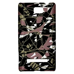 Artistic abstract pattern HTC 8S Hardshell Case