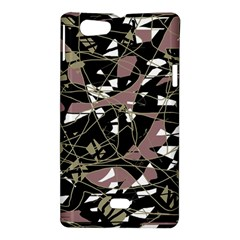 Artistic abstract pattern Sony Xperia Miro