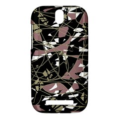 Artistic abstract pattern HTC One SV Hardshell Case
