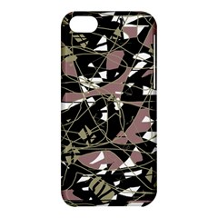 Artistic abstract pattern Apple iPhone 5C Hardshell Case