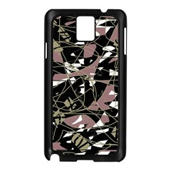 Artistic abstract pattern Samsung Galaxy Note 3 N9005 Case (Black)
