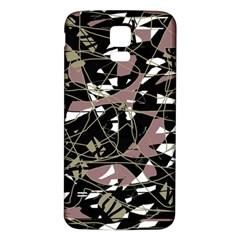 Artistic abstract pattern Samsung Galaxy S5 Back Case (White)