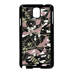 Artistic abstract pattern Samsung Galaxy Note 3 Neo Hardshell Case (Black)