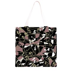Artistic abstract pattern Grocery Light Tote Bag