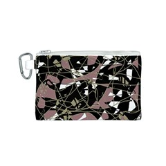 Artistic abstract pattern Canvas Cosmetic Bag (S)
