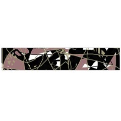 Artistic abstract pattern Flano Scarf (Large)