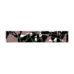 Artistic abstract pattern Flano Scarf (Mini)