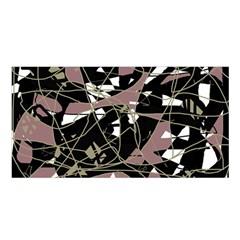Artistic abstract pattern Satin Shawl