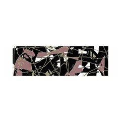 Artistic abstract pattern Satin Scarf (Oblong)