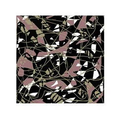Artistic abstract pattern Small Satin Scarf (Square)