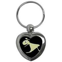 Kangaroo Key Chains (Heart)
