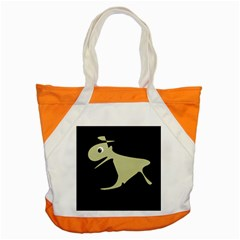 Kangaroo Accent Tote Bag