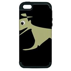 Kangaroo Apple iPhone 5 Hardshell Case (PC+Silicone)