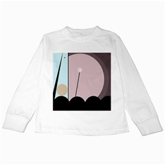 Abstract design Kids Long Sleeve T-Shirts