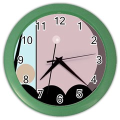 Abstract design Color Wall Clocks
