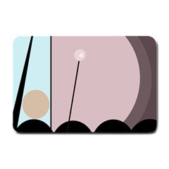 Abstract design Small Doormat