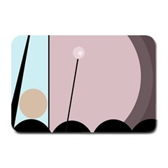 Abstract design Plate Mats