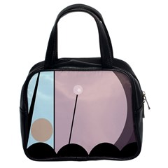 Abstract design Classic Handbags (2 Sides)