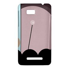 Abstract design HTC One SU T528W Hardshell Case