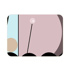 Abstract design Double Sided Flano Blanket (Mini)