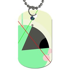Decorative abstract design Dog Tag (Two Sides)