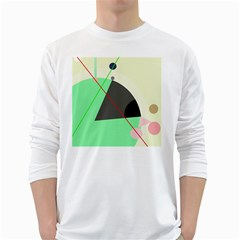 Decorative abstract design White Long Sleeve T-Shirts