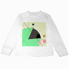 Decorative abstract design Kids Long Sleeve T-Shirts