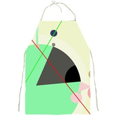 Decorative abstract design Full Print Aprons