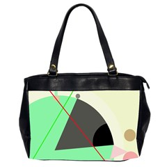 Decorative abstract design Office Handbags (2 Sides)