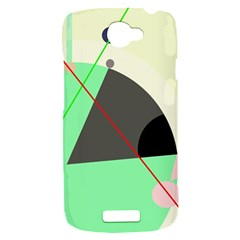 Decorative abstract design HTC One S Hardshell Case