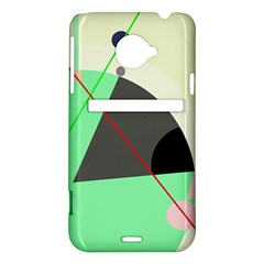 Decorative abstract design HTC Evo 4G LTE Hardshell Case