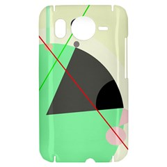 Decorative abstract design HTC Desire HD Hardshell Case