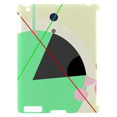 Decorative abstract design Apple iPad 2 Hardshell Case (Compatible with Smart Cover)