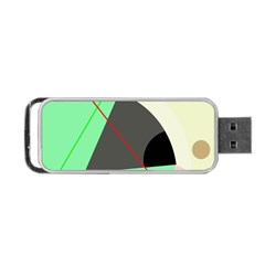 Decorative abstract design Portable USB Flash (Two Sides)
