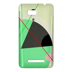 Decorative abstract design HTC One SU T528W Hardshell Case