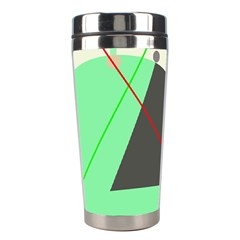 Decorative abstract design Stainless Steel Travel Tumblers
