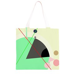 Decorative abstract design Grocery Light Tote Bag
