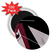 Artistic abstraction 2.25  Magnets (100 pack)