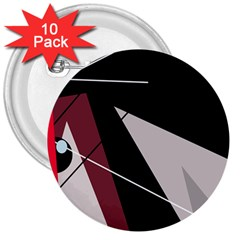 Artistic abstraction 3  Buttons (10 pack)