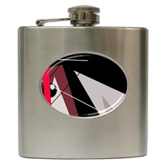 Artistic abstraction Hip Flask (6 oz)