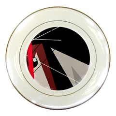 Artistic abstraction Porcelain Plates
