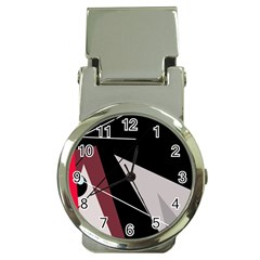 Artistic abstraction Money Clip Watches